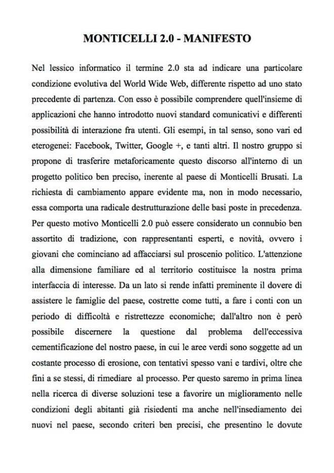 Manifesto Monticelli 2.0