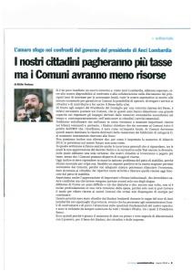 ANCI - marzo 14 - Editoriale Presidente