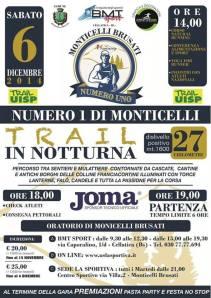 Trail notturna Monticelli